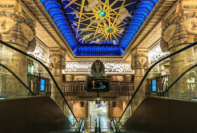 Egyptian Stairs, Harrods, London | Flickr - Photo Sharing!