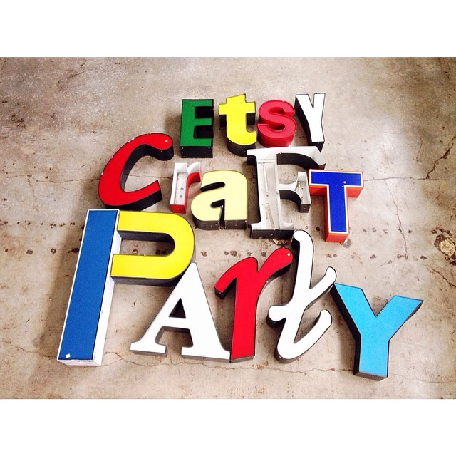 A HUGE shout out to @YeyasAntiques for lending us some awesome props and supplies for Friday's #craftparty! Only 7 tickets left!! #firstfriday #satx @sparepartstudio @tinyroartx http://www.eventbrite.com/e/etsy-2014-craft-party-tickets-11564364325?aff=est