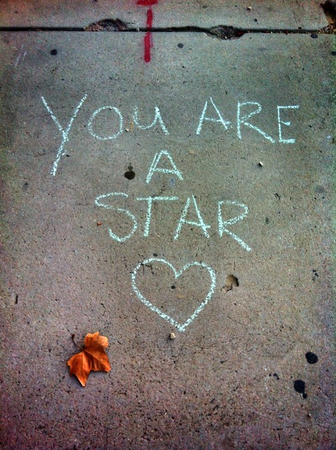 You are a star.