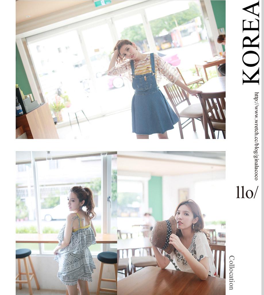[穿搭] Y.S.B korea。沐果咖啡休閒午後