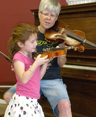 Oracle Library Violin Lessons 2009