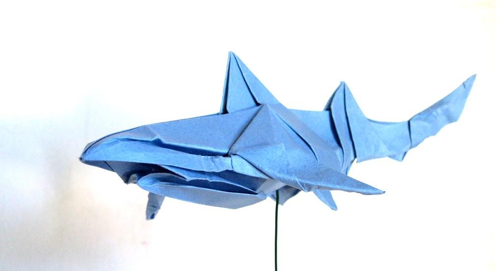 Blue Shark Blue Shark Shark And Origami