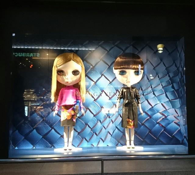 Blythe dolls in tokyo