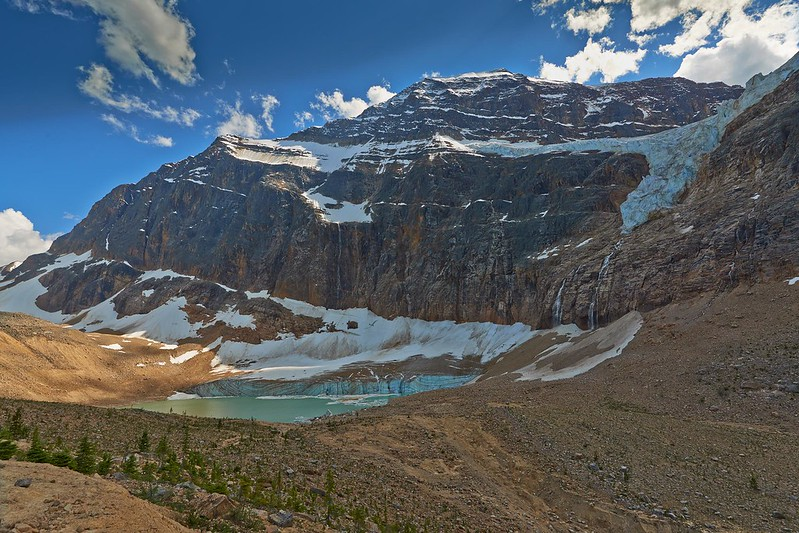 Angel, Cavell and Ghost Glacier - Jasper National Park