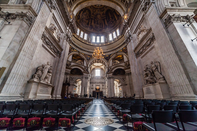 Tim Hillel: Symmetry II - St Paul's Cathedral