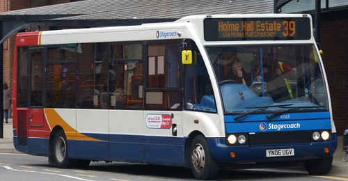 YN06 UGV 'Stagecoach Yorkshire' No. 47323 Optare Slimline Solo on Dennis Basford's 'railsroadsrunways.blogspot.co.uk'