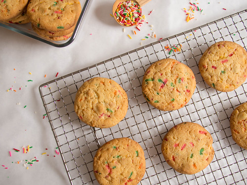 Confetti Cookies | by Cassang