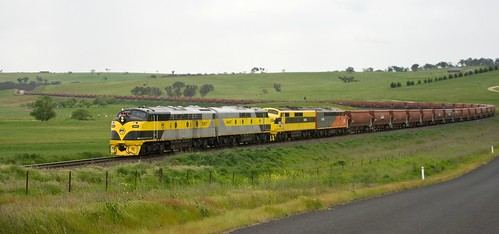 S317, GM27, GM10 and S302, on 8878, approaching Georges Plains, Main West, NSW. 30th October, 2016.