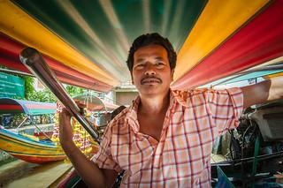 Klong Boat Captain