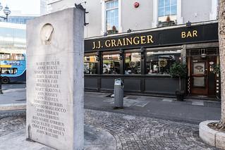 1974 DUBLIN AND MONAGHAN BOMBINGS MEMORIAL[TALBOT STREET]-122926