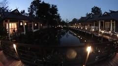 Evening view of the resort.   #Photographer #GGTravels #GoDsGiFtTravels #JetSetter #JetSetterLife #MediaLife #ILuvMyJob #ASIA #ASEAN #IBrakeForPhotos #ibpf_historical #CAITA #CAEXPO #ChinaASEAN #RoadTrip #NationHopper #CityJumper #LatePost