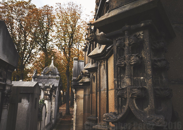 Passy Cimetiere ~ Paris, France