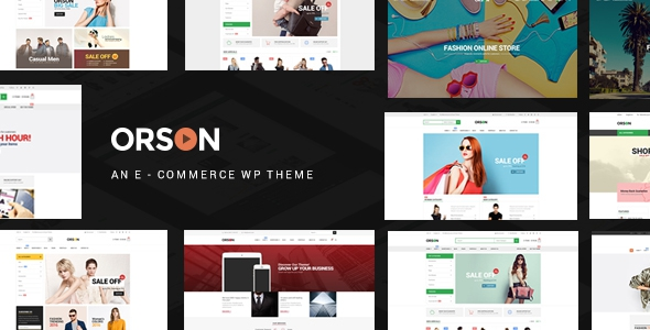 Orson v2.2 – Innovative Ecommerce WordPress Theme