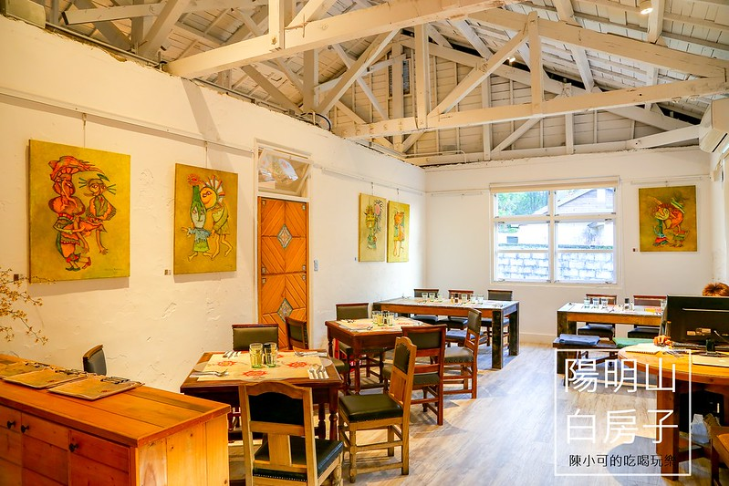 白房子 Yang Ming Caf'e白房子 Yang Ming Caf'e【台北陽明山咖啡館】老房子改建的白房子Yang Ming Caf'e:牛排、義大利麵、下午茶、咖啡、蛋糕,有好吃餐點及優雅環境的特色餐廳(聚餐、大包廂推薦)