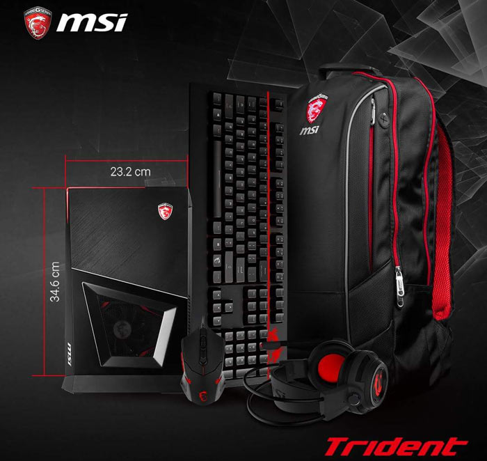 how to clean msi trident