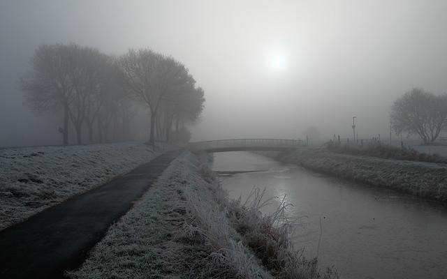 Frozen and misty world, Fujifilm X-E2, XF10-24mmF4 R OIS