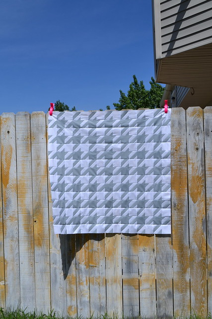 Houndstooth Quilt Top #1