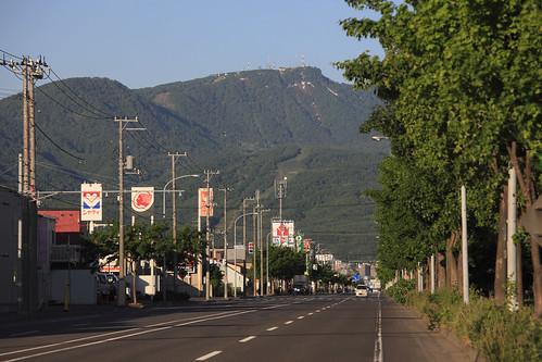 手稲山のある風景