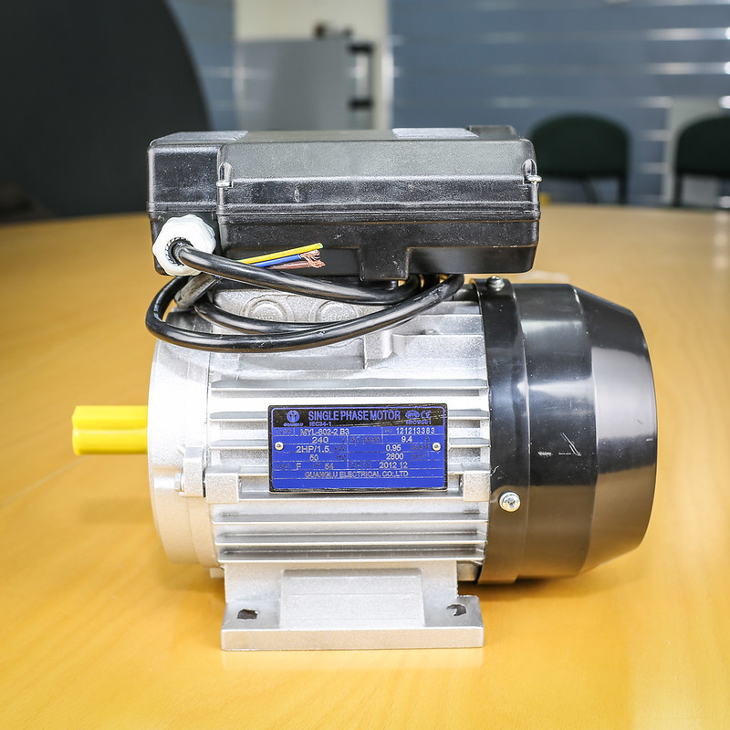 Air Compressor Motor Single Phase 240v 1 5kw 2hp 2800pm