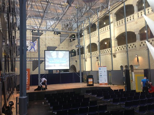 Tomorrow's venue after lunch talking blended reality, learning, games and tv #gotoams