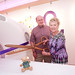 Renown Health posted a photo:	David and Judy Hess cut the cermonial ribbon next to the low-dose CT scanner in the new David & Judy Hess Children's Imaging Center.