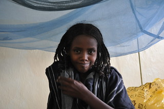 FGM victim Ten year old Sadiye Abubakar in Mille, Afar, Ethiopia