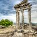 The Temple of Trajan, Bergama by Nejdet Duzen