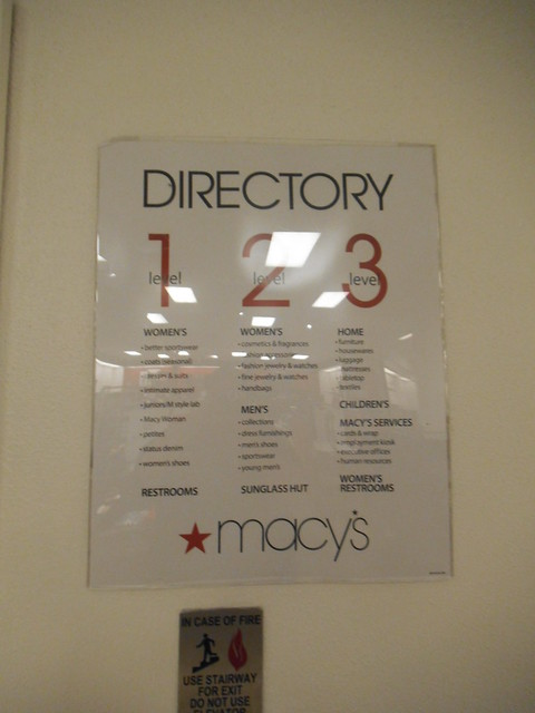 Macy39s puente hills mall directory flickr photo sharing for Macy s herald square floor directory