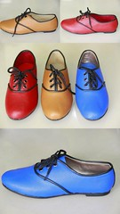 footwear, shoe, leather, cobalt blue, electric blue, blue, pink,