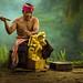 Balinese Craf Man by Jeffri Jaffar