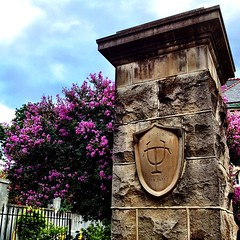 the front of campus on St Charles Ave #tulane #onlyattulane #onlyinneworleans #nola
