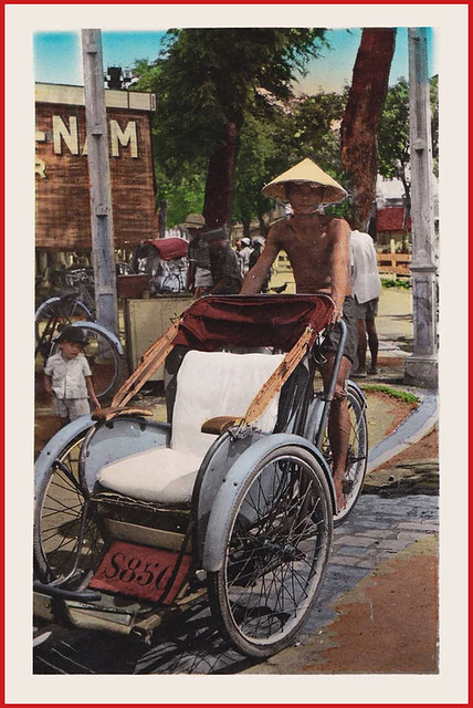10) Saigon cyclo