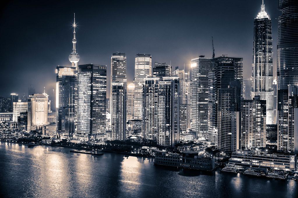 Elevation of Pudong, Shanghai, China