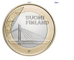 2012 Finland 5 Euro reverse