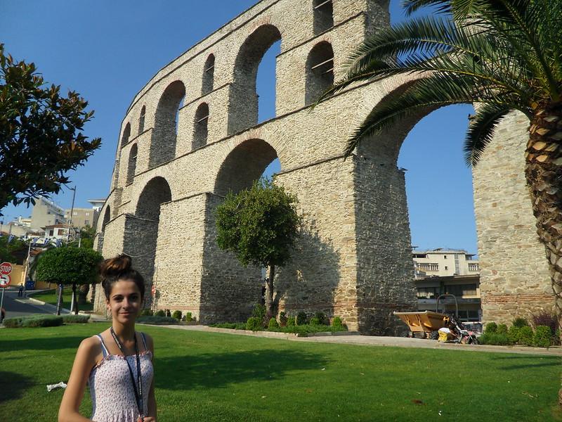 Acueducto de Kavala, Grecia.