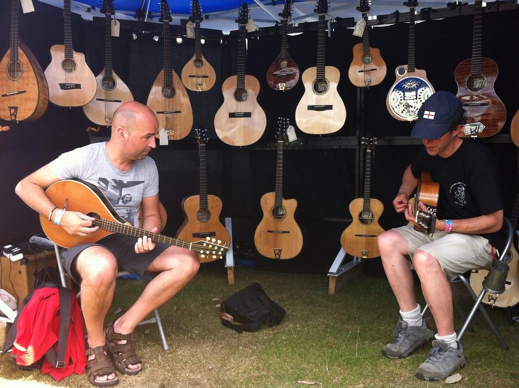 mark&igor rehearsaling