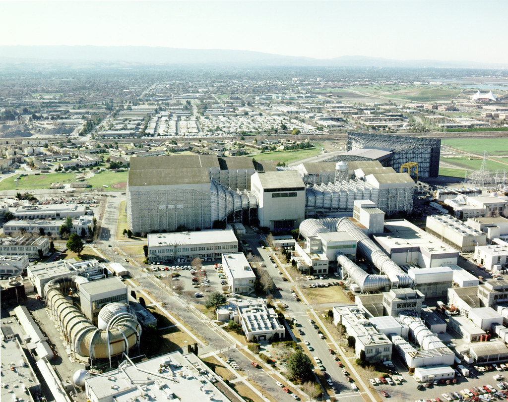 aerial view of nasa ames research center - photo #12