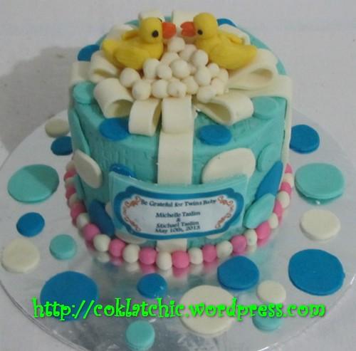 Imagechef Kue Ulang Tahun : Cake Bebek   Michelle & Michael Jual Kue Ulang Tahun