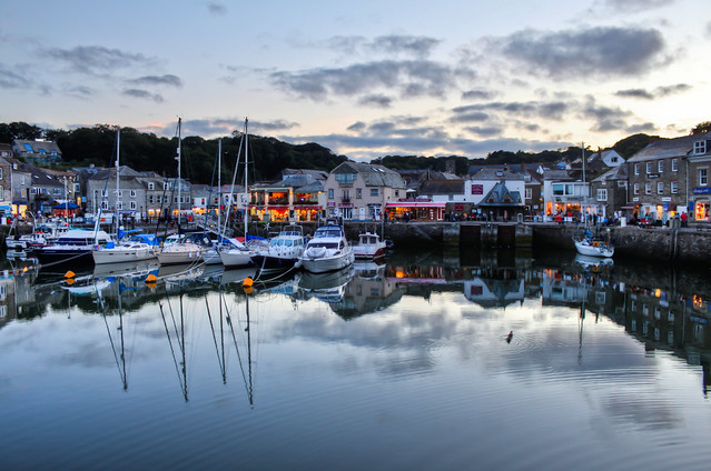 0361 - England, Cornwall, Padstow Harbour HDR
