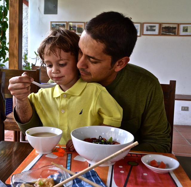 Miso Soup, Restaurante Hana, Lake Atitlan, Guatemala
