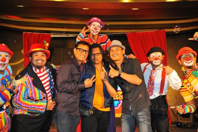 Kump Asmara Luna, Riezman Khuzaimi dan Aidil Aziz memilih Ropie sebagai komedian mereka