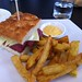 Windows Reuben's sandwich, hand cut fries, lemon pepper & aioli