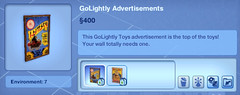 GoLightly Advertisments