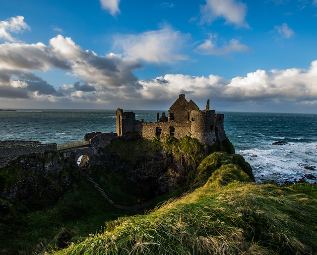 Dunluce Castle, Co. Antrim, Northern Ireland