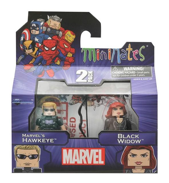 Marvel-Minimates-Toys-R-Us-Series-17-Hawkeye-Black-Widow