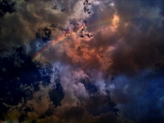 Darwin Clouds, Melbourne Rainbow