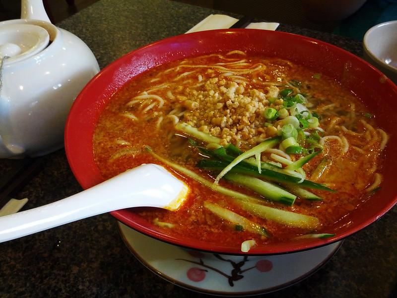 Dan Dan Noodles (擔擔麵) @ Great Taste (鄭家莊)