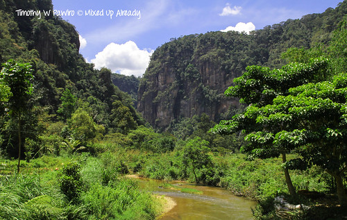 Indonesia - West Sumatra - Lembah Harau - View from Lembah Echo (Accommodation)