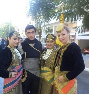 Σύλλογος Ποντίων Χανίων Η Ρωμανία παρέλαση 28ης Οκτωβρίου 3