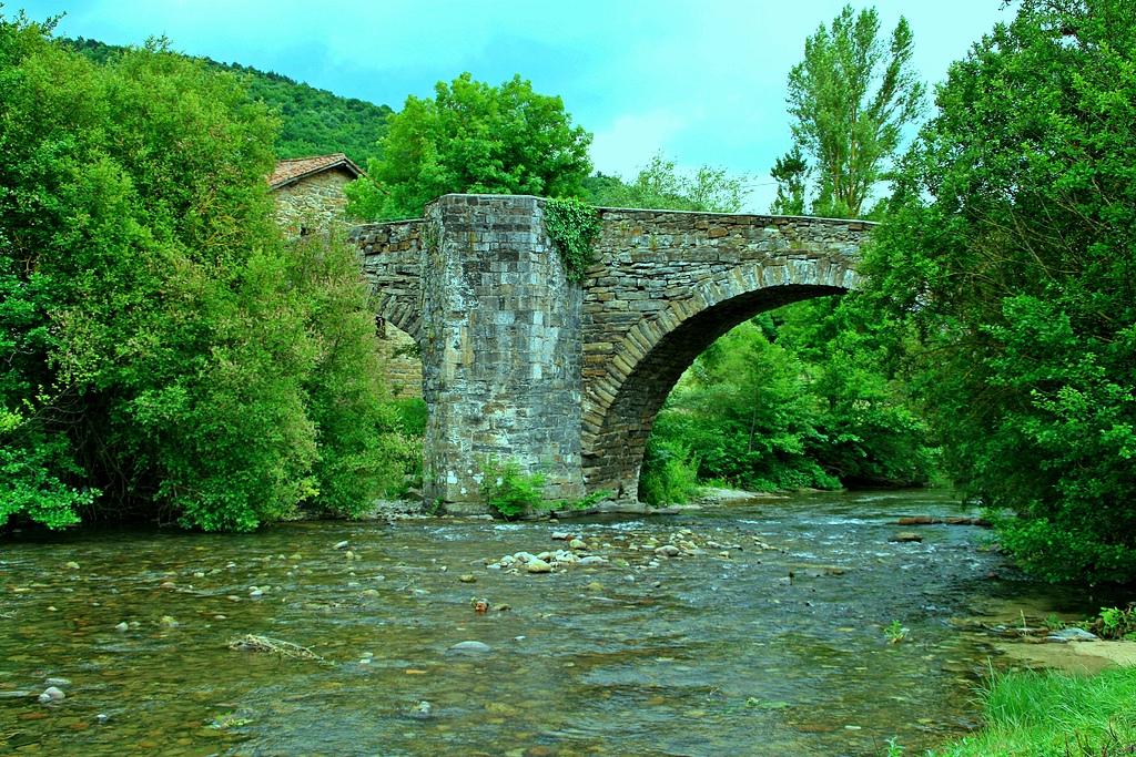 3. Puente de la Rabia. Zubiri, en Navarra. Autor, Miguel Ángel García